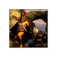 """Spartans-11x11 Square Sticker 3"""" x 3"""""""