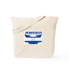 Flag Honduras Ribbon Tote Bag