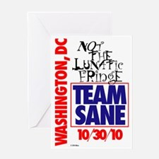 TEAMSANE1 Greeting Card