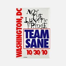 TEAMSANE1 Rectangle Magnet