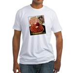 John Kerry's Waffles Fitted T-shirt