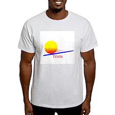 Trista Ash Grey T-Shirt