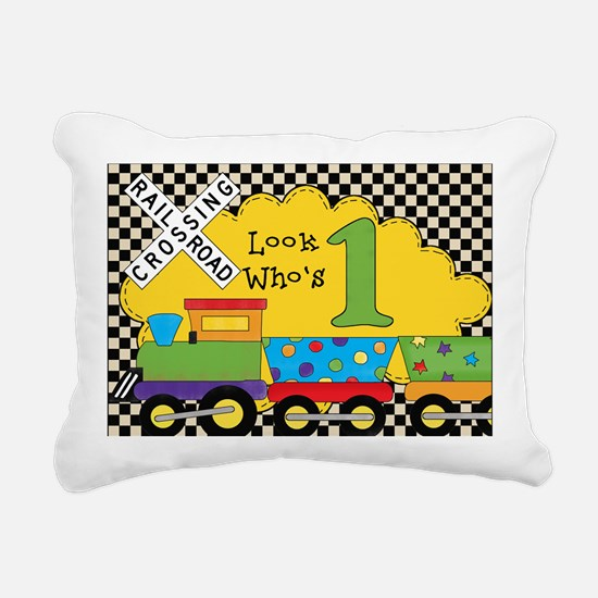 BDAYTRAININVITEONE Rectangular Canvas Pillow