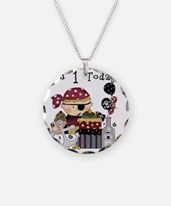 BOYPIRATE1 Necklace Circle Charm