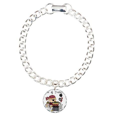BOYPIRATE4 Charm Bracelet, One Charm