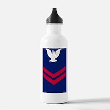 USCG-Rank-PO2-Crow-Til Water Bottle