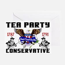 tea partyfinal Greeting Card