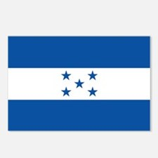 The Flag of Honduras Postcards (Package of 8)