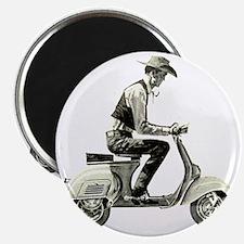 Scooter_Cowboy copy Magnet