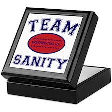 TEAM SANITY Keepsake Box