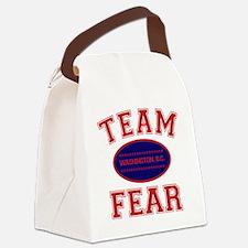 team fear Canvas Lunch Bag