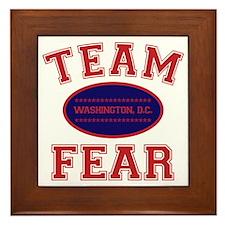 team fear Framed Tile
