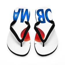 i love OBAMA Flip Flops