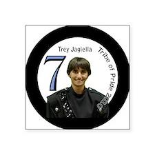 """treyjagiella-btn Square Sticker 3"""" x 3"""""""