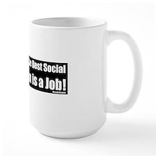 Socail jobReagan_Ronaldd Mug