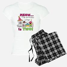 zxmeowbdayTWO Pajamas
