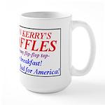 John Kerry's Waffes - Large Mug