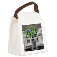 Adirondack Ahairs Canvas Lunch Bag