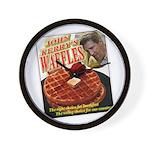 John Kerry's Waffes - Wall Clock
