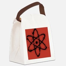 atom-dist-OV Canvas Lunch Bag