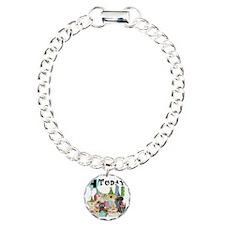Dogs 4th Birthday Bracelet
