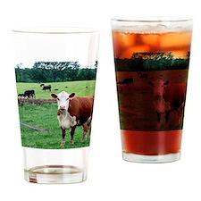 moo Drinking Glass