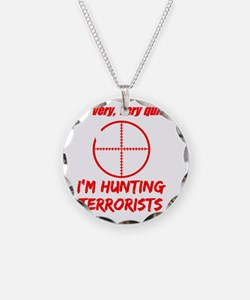 hunting terrorists 2 dark Necklace