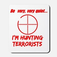hunting terrorists 2 dark Mousepad