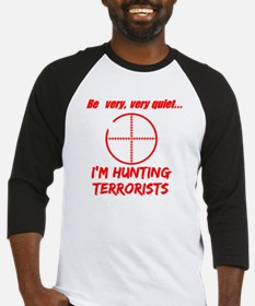 hunting terrorists 2 dark Baseball Jersey