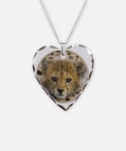 yule cheetah baby Necklace