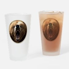 yule bear Drinking Glass