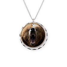 yule bear Necklace