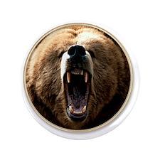 """yule bear 3.5"""" Button"""