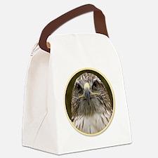 yule hawk Canvas Lunch Bag