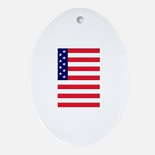 american flag Ornament (Oval)