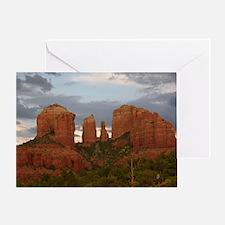 Cathedral Rock, Sedona, AZ Greeting Card