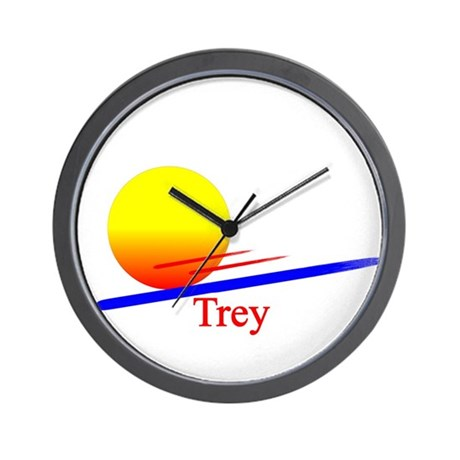 Trey Wall Clock