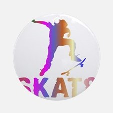 Skat8 Round Ornament