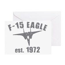 varsity-f15-1972-gray Greeting Card
