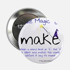 "The Magic E 2.25"" Button"