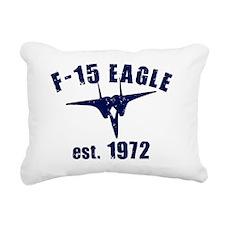 varsity-f15-1972-blue Rectangular Canvas Pillow