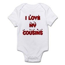 I Love My Cousins Infant Bodysuit