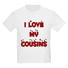 I Love My Cousins Kids T-Shirt