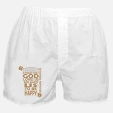 2-Ben-Franklin-Quote-Guinness Boxer Shorts