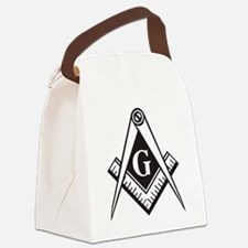 Masonic Emblem Canvas Lunch Bag
