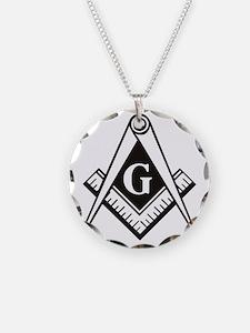 Masonic Emblem Necklace