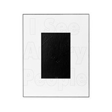 angry people white Picture Frame