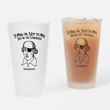 2-shakesbeard-LTT Drinking Glass