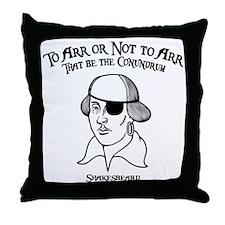 2-shakesbeard-LTT Throw Pillow