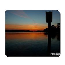 chesapeake sunset copy Mousepad